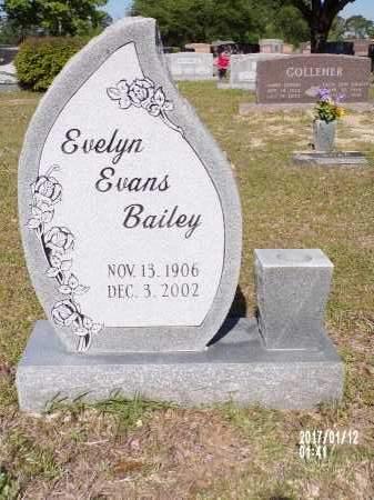 BAILEY, EVELYN - Union County, Arkansas | EVELYN BAILEY - Arkansas Gravestone Photos
