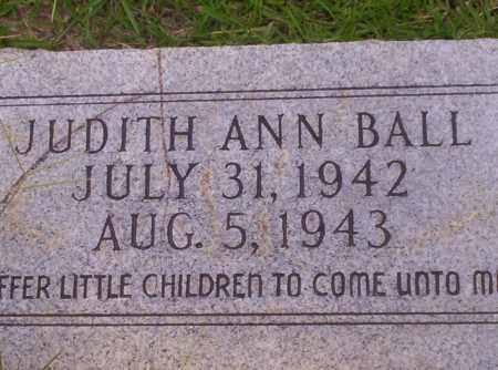 BALL, JUDITH ANN - Union County, Arkansas | JUDITH ANN BALL - Arkansas Gravestone Photos