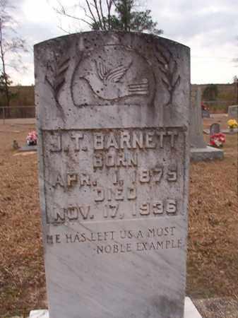 BARNETT, J T - Union County, Arkansas | J T BARNETT - Arkansas Gravestone Photos