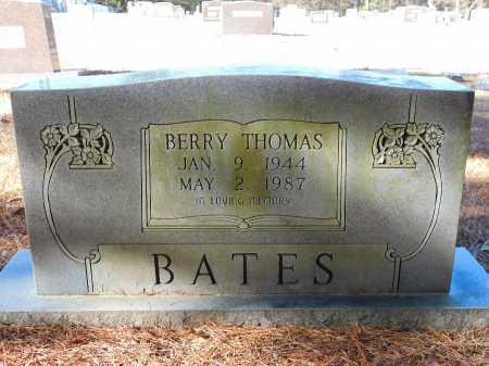 BATES, BERRY THOMAS - Union County, Arkansas   BERRY THOMAS BATES - Arkansas Gravestone Photos