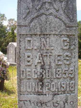 BATES, D N G - Union County, Arkansas | D N G BATES - Arkansas Gravestone Photos