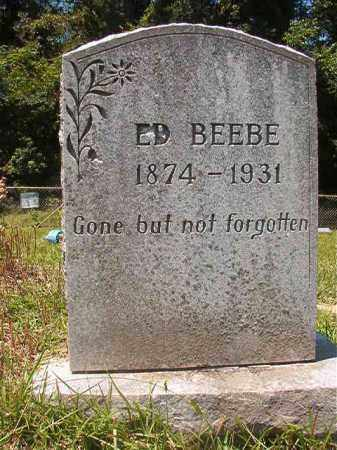 BEEBE, ED - Union County, Arkansas | ED BEEBE - Arkansas Gravestone Photos