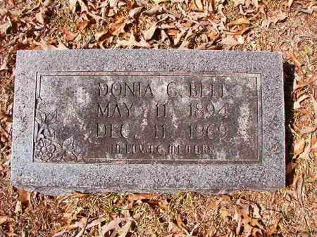 BELL, DONIA C - Union County, Arkansas | DONIA C BELL - Arkansas Gravestone Photos