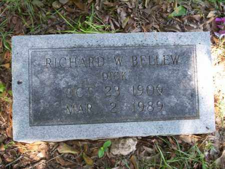 BELLEW, RICHARD W - Union County, Arkansas | RICHARD W BELLEW - Arkansas Gravestone Photos