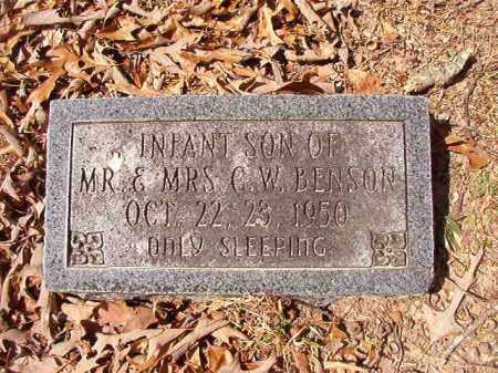 BENSON, INFANT SON - Union County, Arkansas   INFANT SON BENSON - Arkansas Gravestone Photos