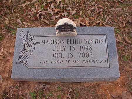 BENTON, MADISON ELIHU - Union County, Arkansas | MADISON ELIHU BENTON - Arkansas Gravestone Photos