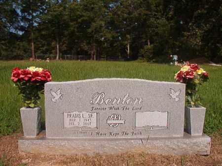 BENTON, SR (VETERAN), PRADIS L - Union County, Arkansas | PRADIS L BENTON, SR (VETERAN) - Arkansas Gravestone Photos
