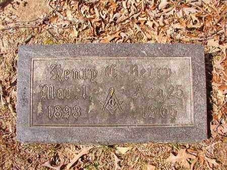 BERRY, HENRY C - Union County, Arkansas   HENRY C BERRY - Arkansas Gravestone Photos