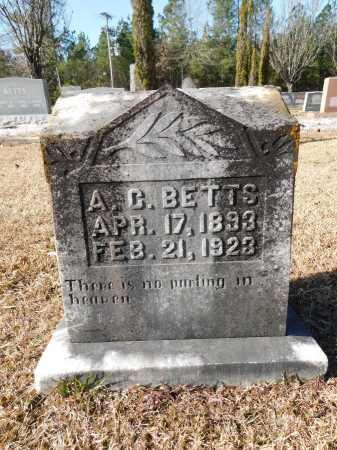 BETTS, A C - Union County, Arkansas | A C BETTS - Arkansas Gravestone Photos