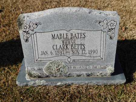 BATES BETTS, MABEL - Union County, Arkansas | MABEL BATES BETTS - Arkansas Gravestone Photos