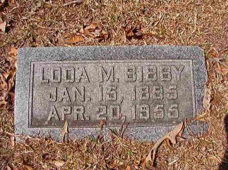 BIBBY, LODA M - Union County, Arkansas | LODA M BIBBY - Arkansas Gravestone Photos