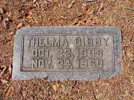 BIBBY, THELMA - Union County, Arkansas | THELMA BIBBY - Arkansas Gravestone Photos