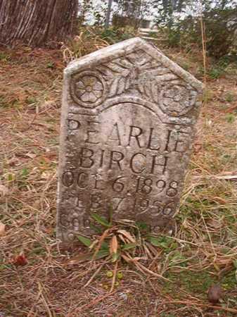 BIRCH, PEARLIE - Union County, Arkansas   PEARLIE BIRCH - Arkansas Gravestone Photos