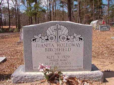 BIRCHFIELD, JUANITA - Union County, Arkansas | JUANITA BIRCHFIELD - Arkansas Gravestone Photos