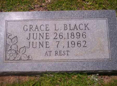 BLACK, GRACE L - Union County, Arkansas   GRACE L BLACK - Arkansas Gravestone Photos