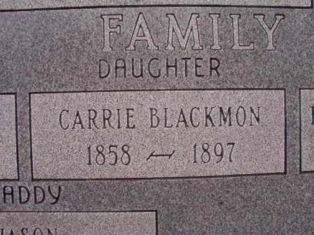 BLACKMON, CARRIE - Union County, Arkansas   CARRIE BLACKMON - Arkansas Gravestone Photos