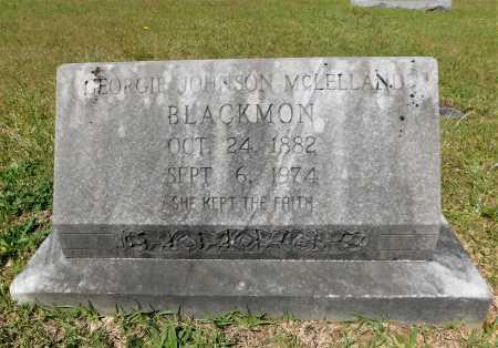 JOHNSON MCLELLAND BLACKMON, GEORGIE - Union County, Arkansas   GEORGIE JOHNSON MCLELLAND BLACKMON - Arkansas Gravestone Photos
