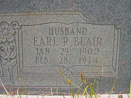 BLAIR, EARL R - Union County, Arkansas   EARL R BLAIR - Arkansas Gravestone Photos