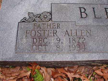 BLEDSOE, FOSTER ALLEN - Union County, Arkansas | FOSTER ALLEN BLEDSOE - Arkansas Gravestone Photos