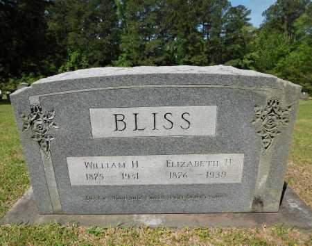 BLISS, WILLIAM H - Union County, Arkansas | WILLIAM H BLISS - Arkansas Gravestone Photos