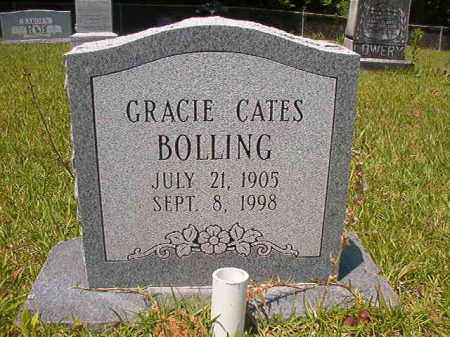 CATES BOLLING, GRACIE - Union County, Arkansas | GRACIE CATES BOLLING - Arkansas Gravestone Photos