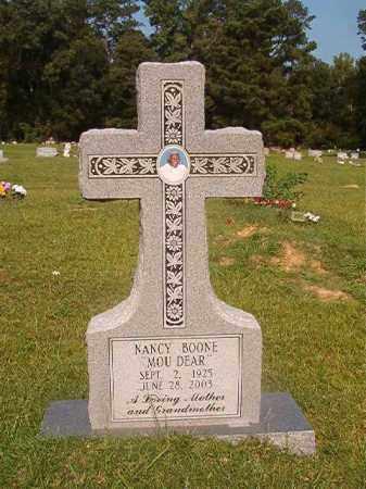BOONE, NANCY - Union County, Arkansas | NANCY BOONE - Arkansas Gravestone Photos