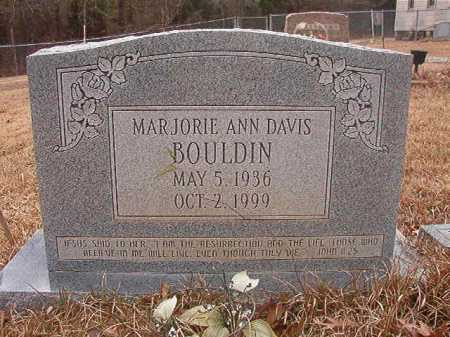 BOULDIN, MARJORIE ANN - Union County, Arkansas | MARJORIE ANN BOULDIN - Arkansas Gravestone Photos