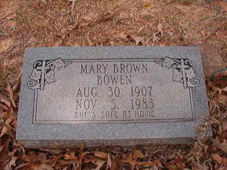 BROWN BOWEN, MARY - Union County, Arkansas | MARY BROWN BOWEN - Arkansas Gravestone Photos