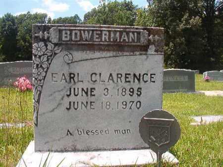 BOWERMAN, EARL CLARENCE - Union County, Arkansas   EARL CLARENCE BOWERMAN - Arkansas Gravestone Photos