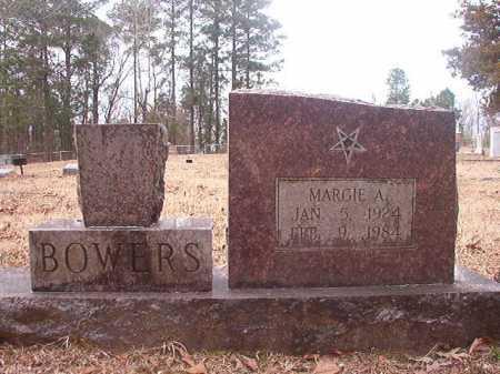 BOWERS, MARGIE A - Union County, Arkansas   MARGIE A BOWERS - Arkansas Gravestone Photos