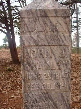 BRAMLEY, JOHN J - Union County, Arkansas | JOHN J BRAMLEY - Arkansas Gravestone Photos
