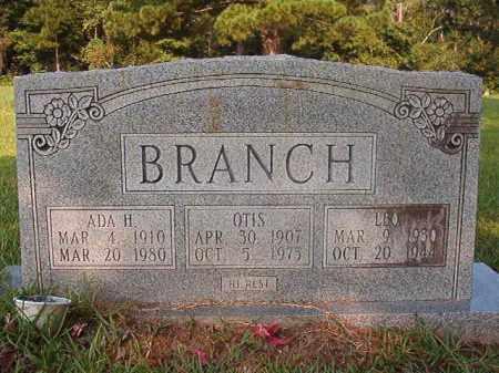 BRANCH, OTIS - Union County, Arkansas | OTIS BRANCH - Arkansas Gravestone Photos