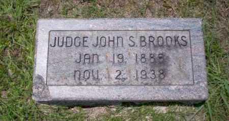 BROOKS, JUDGE JOHN S - Union County, Arkansas | JUDGE JOHN S BROOKS - Arkansas Gravestone Photos