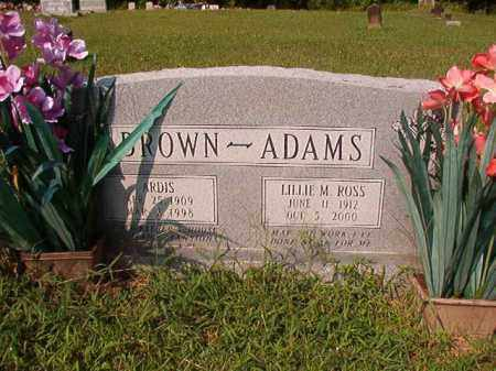 BROWN, ARDIS - Union County, Arkansas | ARDIS BROWN - Arkansas Gravestone Photos