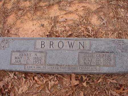 BROWN, DIXIE - Union County, Arkansas | DIXIE BROWN - Arkansas Gravestone Photos