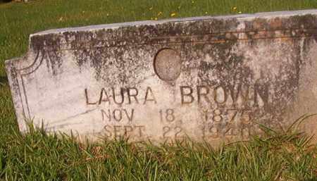 BROWN, LAURA - Union County, Arkansas   LAURA BROWN - Arkansas Gravestone Photos