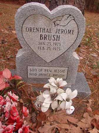 BRUSH, ORENTHAL JEROME - Union County, Arkansas | ORENTHAL JEROME BRUSH - Arkansas Gravestone Photos
