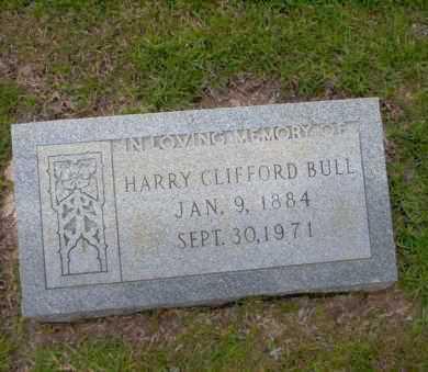 BULL, HARRY CLIFFORD - Union County, Arkansas | HARRY CLIFFORD BULL - Arkansas Gravestone Photos