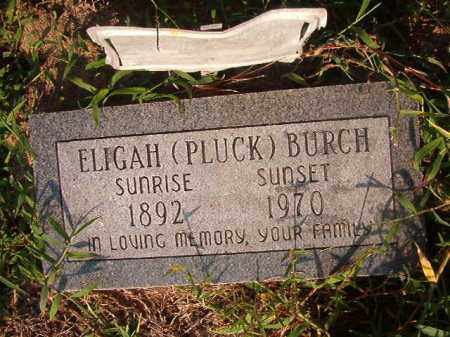 BURCH, ELIGAH - Union County, Arkansas | ELIGAH BURCH - Arkansas Gravestone Photos