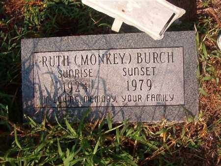 BURCH, RUTH - Union County, Arkansas   RUTH BURCH - Arkansas Gravestone Photos
