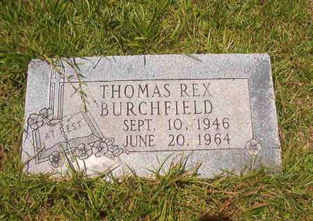 BURCHFIELD, THOMAS REX - Union County, Arkansas | THOMAS REX BURCHFIELD - Arkansas Gravestone Photos