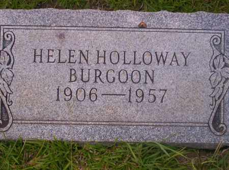 HOLLOWAY BURGOON, HELEN - Union County, Arkansas | HELEN HOLLOWAY BURGOON - Arkansas Gravestone Photos