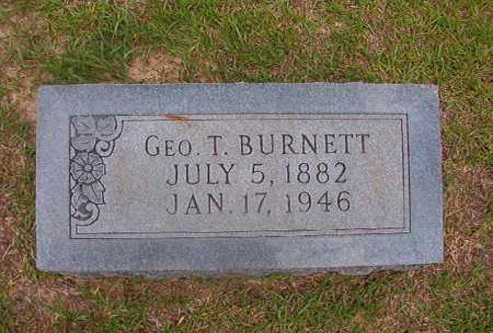 BURNETT, GEO T - Union County, Arkansas | GEO T BURNETT - Arkansas Gravestone Photos