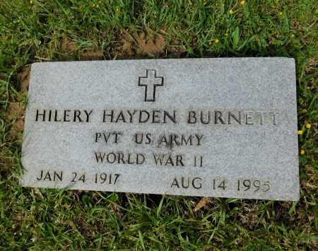 BURNETT (VETERAN WWII), HILERY HAYDEN - Union County, Arkansas | HILERY HAYDEN BURNETT (VETERAN WWII) - Arkansas Gravestone Photos