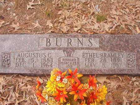 BURNS, ETHEL - Union County, Arkansas | ETHEL BURNS - Arkansas Gravestone Photos