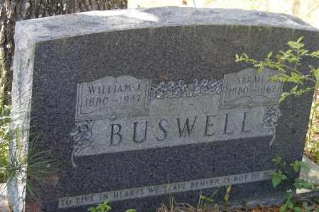 BUSWELL, WILLIAM J - Union County, Arkansas | WILLIAM J BUSWELL - Arkansas Gravestone Photos
