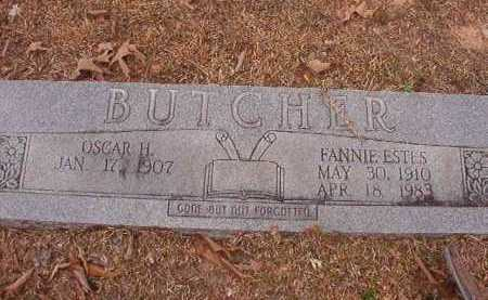 BUTCHER, FANNIE - Union County, Arkansas | FANNIE BUTCHER - Arkansas Gravestone Photos