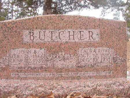 BUTCHER, LAURA - Union County, Arkansas | LAURA BUTCHER - Arkansas Gravestone Photos