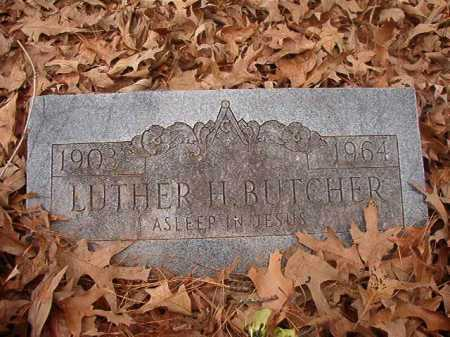 BUTCHER, LUTHER H - Union County, Arkansas | LUTHER H BUTCHER - Arkansas Gravestone Photos