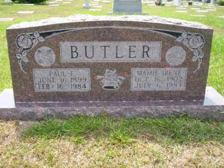 BUTLER, MAMIE IRENE - Union County, Arkansas | MAMIE IRENE BUTLER - Arkansas Gravestone Photos